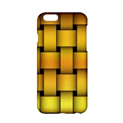 Rough Gold Weaving Pattern Apple iPhone 6/6S Hardshell Case