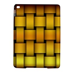 Rough Gold Weaving Pattern iPad Air 2 Hardshell Cases