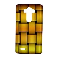 Rough Gold Weaving Pattern LG G4 Hardshell Case