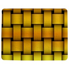Rough Gold Weaving Pattern Jigsaw Puzzle Photo Stand (Rectangular)