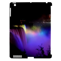 Niagara Falls Dancing Lights Colorful Lights Brighten Up The Night At Niagara Falls Apple Ipad 3/4 Hardshell Case (compatible With Smart Cover)
