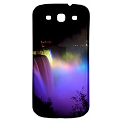 Niagara Falls Dancing Lights Colorful Lights Brighten Up The Night At Niagara Falls Samsung Galaxy S3 S III Classic Hardshell Back Case