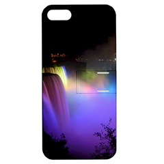 Niagara Falls Dancing Lights Colorful Lights Brighten Up The Night At Niagara Falls Apple iPhone 5 Hardshell Case with Stand