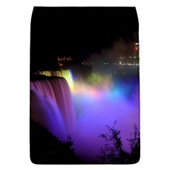 Niagara Falls Dancing Lights Colorful Lights Brighten Up The Night At Niagara Falls Flap Covers (L)