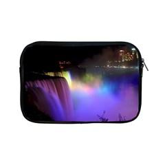 Niagara Falls Dancing Lights Colorful Lights Brighten Up The Night At Niagara Falls Apple iPad Mini Zipper Cases