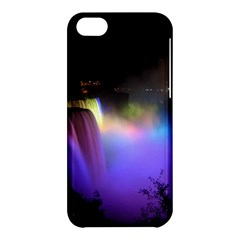Niagara Falls Dancing Lights Colorful Lights Brighten Up The Night At Niagara Falls Apple iPhone 5C Hardshell Case