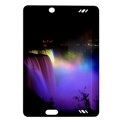 Niagara Falls Dancing Lights Colorful Lights Brighten Up The Night At Niagara Falls Amazon Kindle Fire HD (2013) Hardshell Case