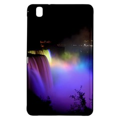 Niagara Falls Dancing Lights Colorful Lights Brighten Up The Night At Niagara Falls Samsung Galaxy Tab Pro 8.4 Hardshell Case