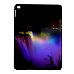 Niagara Falls Dancing Lights Colorful Lights Brighten Up The Night At Niagara Falls iPad Air 2 Hardshell Cases