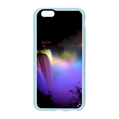 Niagara Falls Dancing Lights Colorful Lights Brighten Up The Night At Niagara Falls Apple Seamless iPhone 6/6S Case (Color)