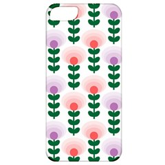 Floral Wallpaer Pattern Bright Bright Colorful Flowers Pattern Wallpaper Background Apple iPhone 5 Classic Hardshell Case