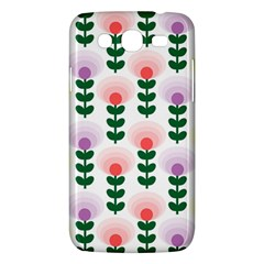 Floral Wallpaer Pattern Bright Bright Colorful Flowers Pattern Wallpaper Background Samsung Galaxy Mega 5 8 I9152 Hardshell Case