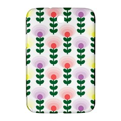 Floral Wallpaer Pattern Bright Bright Colorful Flowers Pattern Wallpaper Background Samsung Galaxy Note 8.0 N5100 Hardshell Case