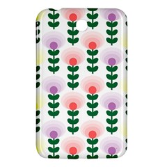Floral Wallpaer Pattern Bright Bright Colorful Flowers Pattern Wallpaper Background Samsung Galaxy Tab 3 (7 ) P3200 Hardshell Case