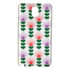 Floral Wallpaer Pattern Bright Bright Colorful Flowers Pattern Wallpaper Background Samsung Galaxy Note 3 N9005 Hardshell Case