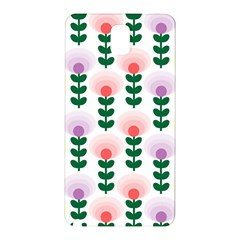 Floral Wallpaer Pattern Bright Bright Colorful Flowers Pattern Wallpaper Background Samsung Galaxy Note 3 N9005 Hardshell Back Case