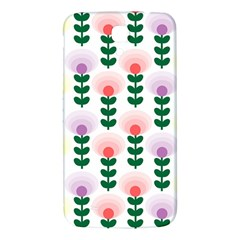 Floral Wallpaer Pattern Bright Bright Colorful Flowers Pattern Wallpaper Background Samsung Galaxy Mega I9200 Hardshell Back Case