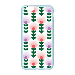 Floral Wallpaer Pattern Bright Bright Colorful Flowers Pattern Wallpaper Background Apple Seamless iPhone 6/6S Case (Color)