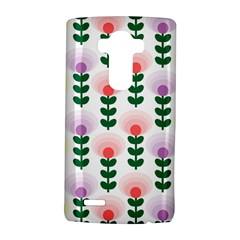 Floral Wallpaer Pattern Bright Bright Colorful Flowers Pattern Wallpaper Background Lg G4 Hardshell Case