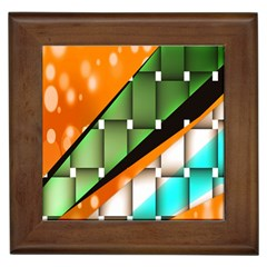 Abstract Wallpapers Framed Tiles