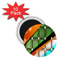 Abstract Wallpapers 1.75  Magnets (10 pack)