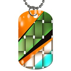 Abstract Wallpapers Dog Tag (two Sides)