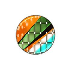 Abstract Wallpapers Hat Clip Ball Marker (4 pack)