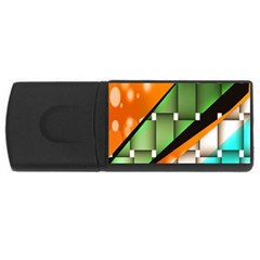Abstract Wallpapers Usb Flash Drive Rectangular (4 Gb)
