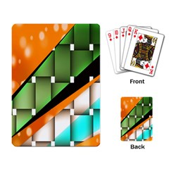 Abstract Wallpapers Playing Card