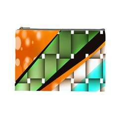 Abstract Wallpapers Cosmetic Bag (large)
