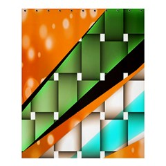 Abstract Wallpapers Shower Curtain 60  x 72  (Medium)