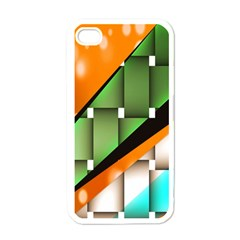 Abstract Wallpapers Apple iPhone 4 Case (White)