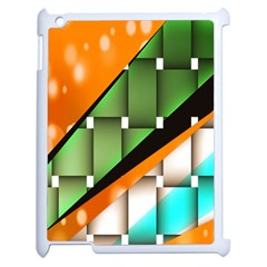 Abstract Wallpapers Apple iPad 2 Case (White)