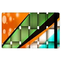 Abstract Wallpapers Apple iPad 3/4 Flip Case