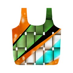 Abstract Wallpapers Full Print Recycle Bags (M)