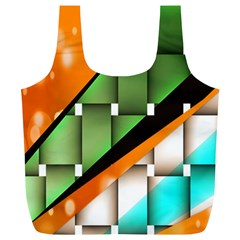 Abstract Wallpapers Full Print Recycle Bags (L)