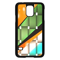 Abstract Wallpapers Samsung Galaxy S5 Case (Black)