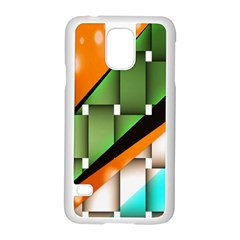 Abstract Wallpapers Samsung Galaxy S5 Case (White)