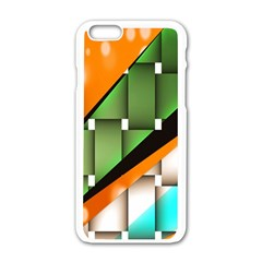 Abstract Wallpapers Apple iPhone 6/6S White Enamel Case