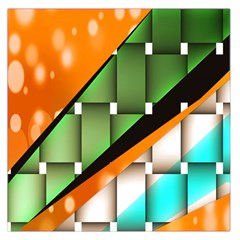 Abstract Wallpapers Large Satin Scarf (Square)