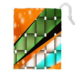 Abstract Wallpapers Drawstring Pouches (XXL)