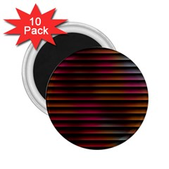 Colorful Venetian Blinds Effect 2.25  Magnets (10 pack)