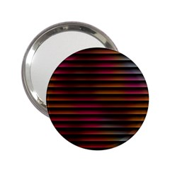 Colorful Venetian Blinds Effect 2.25  Handbag Mirrors