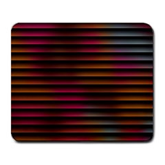 Colorful Venetian Blinds Effect Large Mousepads