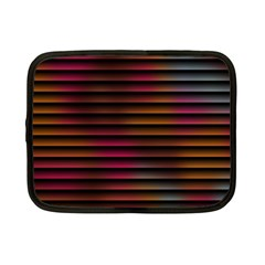 Colorful Venetian Blinds Effect Netbook Case (small)