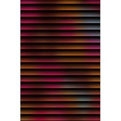 Colorful Venetian Blinds Effect 5 5  X 8 5  Notebooks