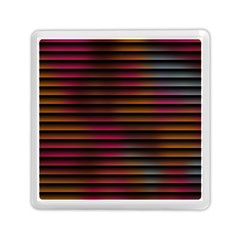 Colorful Venetian Blinds Effect Memory Card Reader (square)
