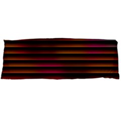 Colorful Venetian Blinds Effect Body Pillow Case (Dakimakura)