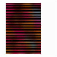 Colorful Venetian Blinds Effect Small Garden Flag (Two Sides)
