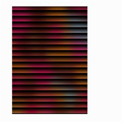 Colorful Venetian Blinds Effect Large Garden Flag (Two Sides)